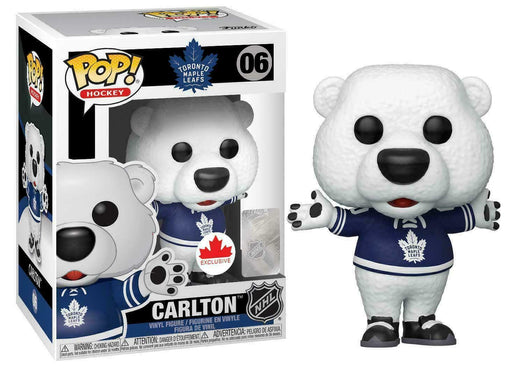 Funko Pop! NHL Carlton Toronto Maple Leafs Exclusive Vinyl Figure (Pre-Order) - Characters Co