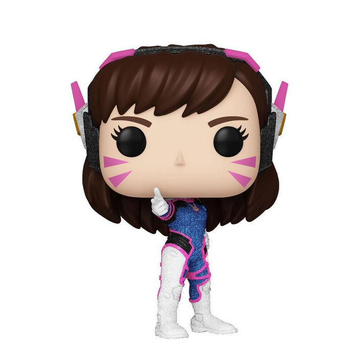 D. Va Glitter Funko Pop! Overwatch Exclusive Vinyl Figure (Pre-Order) - Characters Co