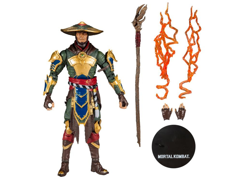 McFarlane Mortal Kombat Raiden 7 Inch Collectible Action Figure - Characters Co