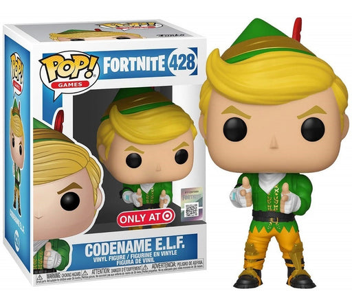 Funko Pop Games: Fortnite - Codename E.L.F Target Exclusive Vinyl Figure - Characters Co