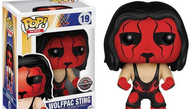 Funko Pop WWE! Wolfpac Sting Gamestop Exclusive Vinyl Figure - Characters Co