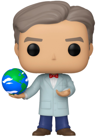 Funko Pop! Icons Bill Nye The Science Guy Exclusive With Globe Vinyl Figure (Pre-Order) - Characters Co