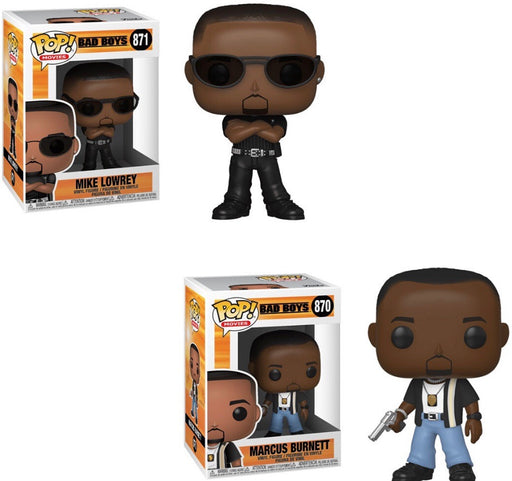 Funko Pop! Movies Bad Boys Complete Set of 2 Vinyl Figures (Pre-Order) - Characters Co