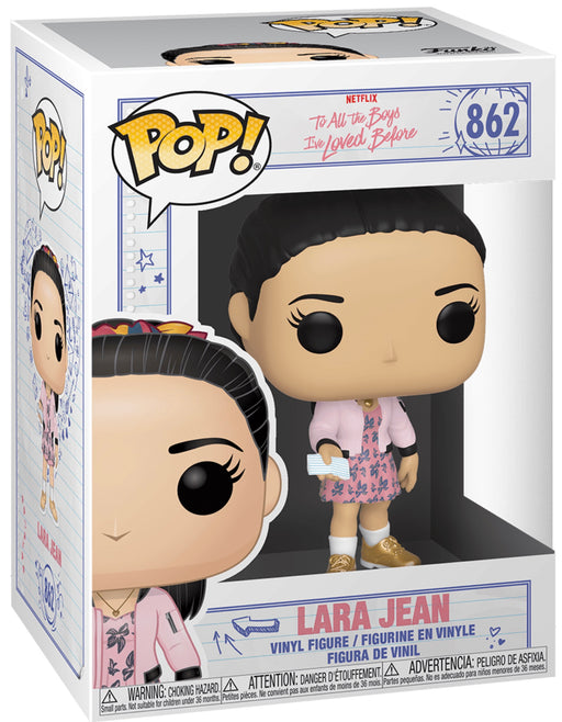 Funko Pop! Television To All The Boys I Loved Before - Lara Jean Vinyl Figure (Pre-Order) - Characters Co