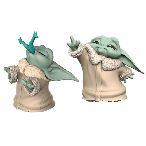 Star Wars The Mandalorian - The Bounty Collection The Child Baby Yoda Frog & Force Two-Pack (Pre-Order) - Characters Co