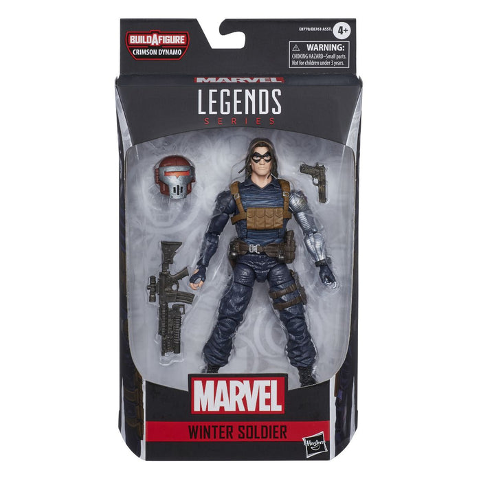 "Marvel Legends Black Widow - Winter Soldier 6"" Scale Collectible Action Figure - Characters Co"