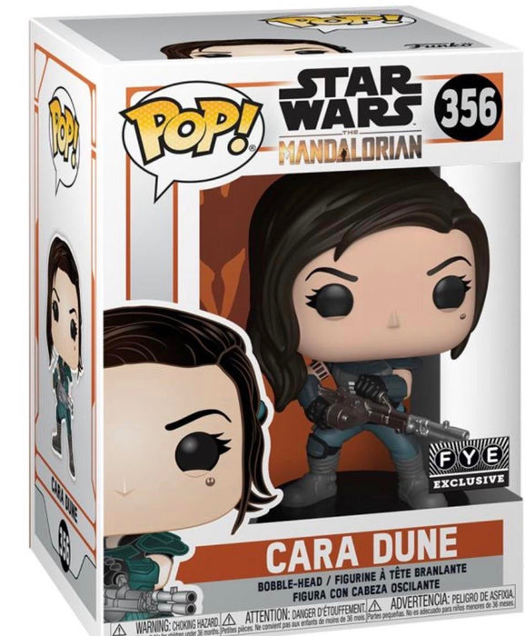 Star Wars: The Mandalorian Funko Pop! Cara Dune with Gun Exclusive Vinyl Figure (Pre-Order) - Characters Co