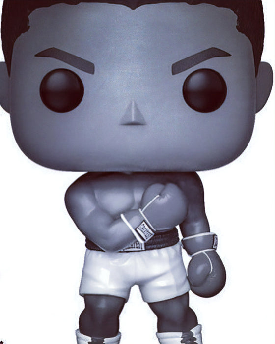 Funko Pop! Sports Legends Muhammad Ali Black & White Exclusive Vinyl Figure (Pre-Order) - Characters Co