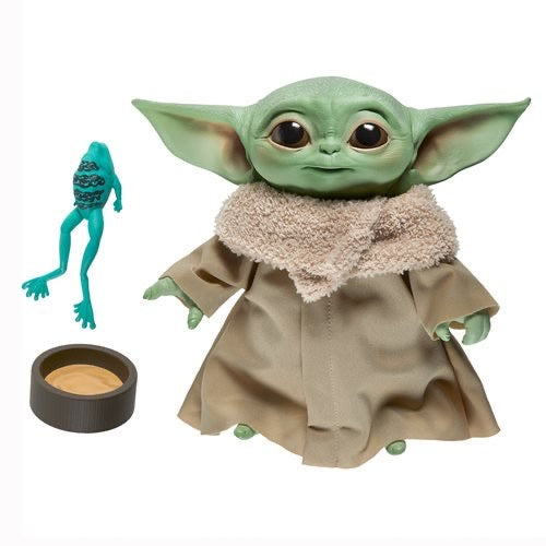 Star Wars The Mandalorian - The Child Baby Yoda Talking 7 1/2-Inch Plush (PRE-ORDER December 2020) - Characters Co