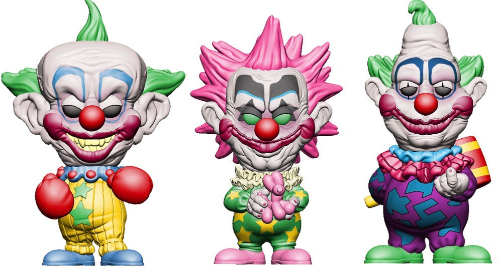 Funko Pop! Movies Killer Klowns From Outer Space - Complete Set of 3 Vinyl Figures (Pre-Order) - Characters Co