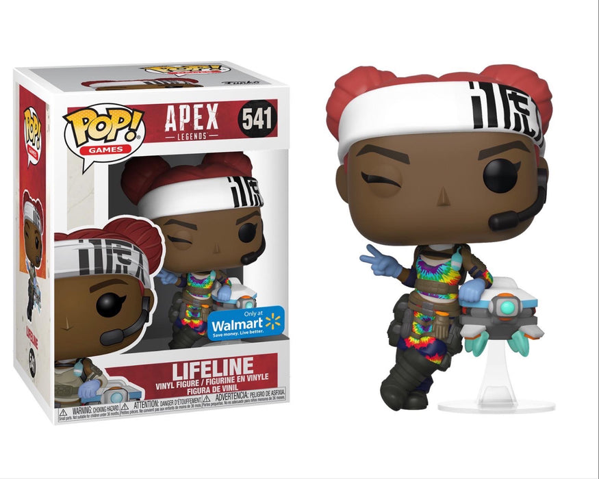 Funko Pop! Games Apex Legends Lifeline Exclusive Vinyl Figure - CharactersCo.com