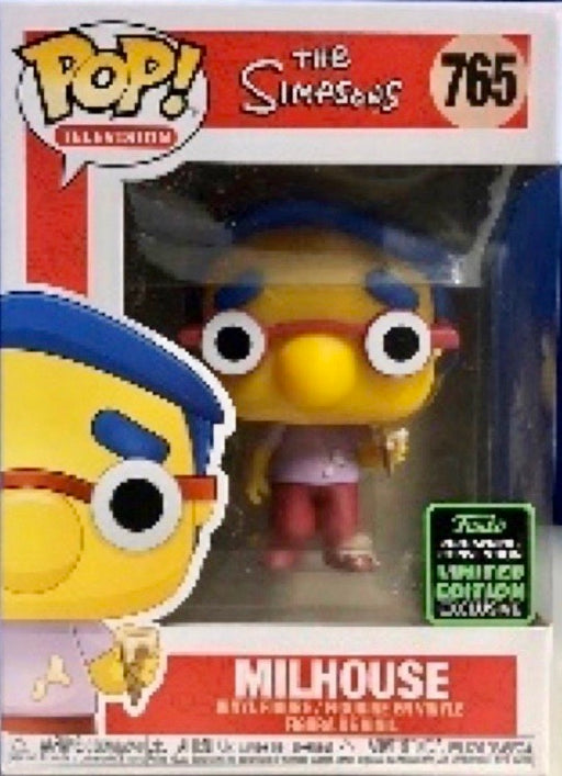 Funko Pop! 2020 Emerald City Comic Con - Simpsons Milhouse Exclusive Shared Vinyl Figure (PRE-ORDER) - Characters Co