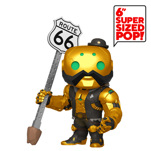 Funko Pop Games! Overwatch - B.O.B. Exclusive 6-Inch Supersize Vinyl Figure - Characters Co