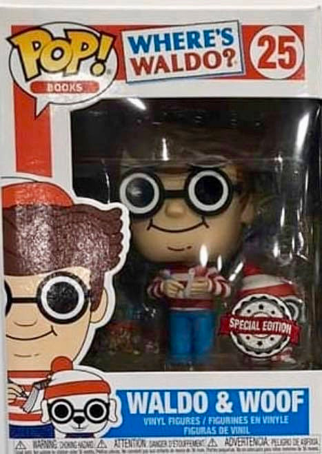 Funko Pop! Books Waldo & Woof Exclusive Vinyl Figure (Pre-Order) - Characters Co