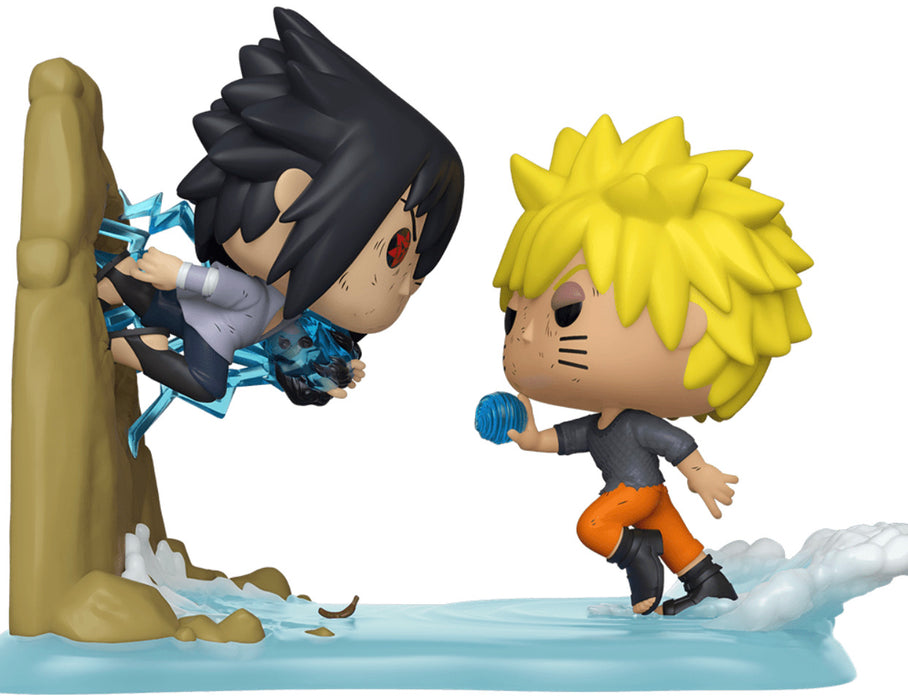 Funko Pop! Animation Moments Naruto Vs. Sasuke Exclusive Vinyl Figure (Pre-Order) - Characters Co