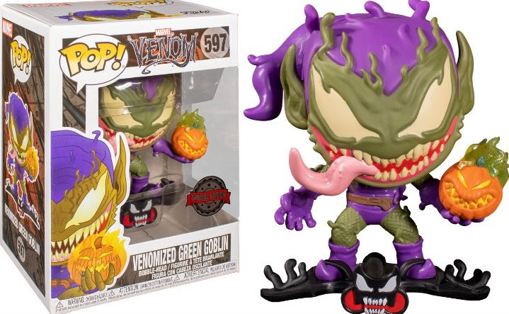 Funko Pop! Marvel Venom - Venomized Green Goblin Exclusive Vinyl Figure (Pre-Order) - Characters Co