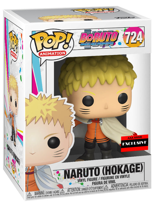 Funko Pop! Boruto Naruto Next Generation Hokage Vinyl Figure - Factory Sealed Case of 6 Guaranteed Chase) (Pre-Order) - Characters Co