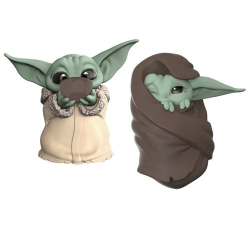 Star Wars The Mandalorian - The Bounty Collection The Child Baby Yoda Soup Sipping & Blanket Wrapped Two-Pack (Pre-Order) - Characters Co