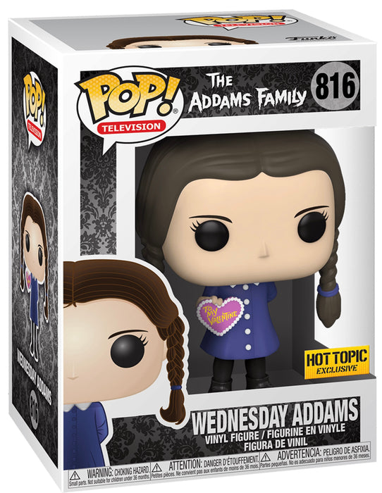 Funko Pop! The Addams Family - Wednesday Valentines Day Exclusive Vinyl Figure (Pre-Order) - Characters Co
