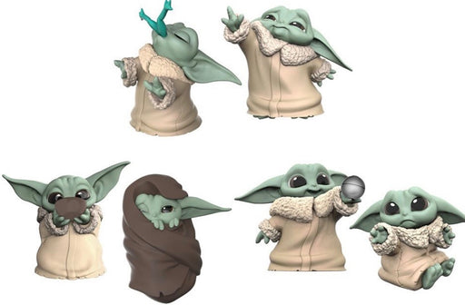 Star Wars The Mandalorian - The Bounty Collection The Child Baby Yoda - Six Figure Bundle Complete Set (Pre-Order Late May or June 2020) - Characters Co