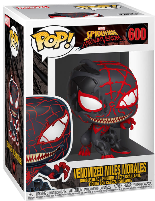 Funko Pop! Marvel - Venomized Miles Morales Vinyl Figure (Pre-Order) - Characters Co