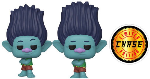 Funko Pop! Trolls World Tour - Branch Limited Edition Chase Vinyl Figure Set (Pre-Order) - Characters Co