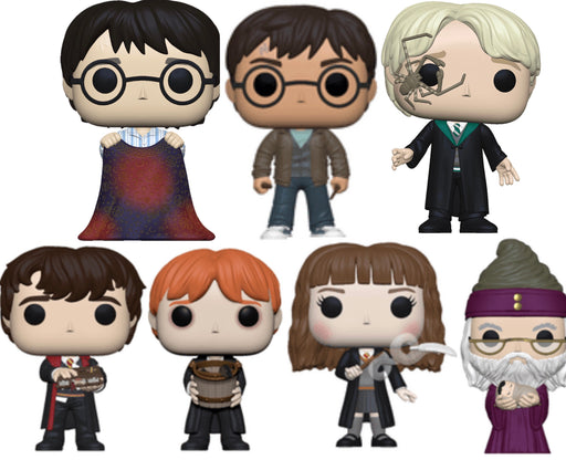 Funko Pop! Harry Potter Complete Set of 7 - 2020 Series 1 Vinyl Figure Set (Pre-Order) - Characters Co