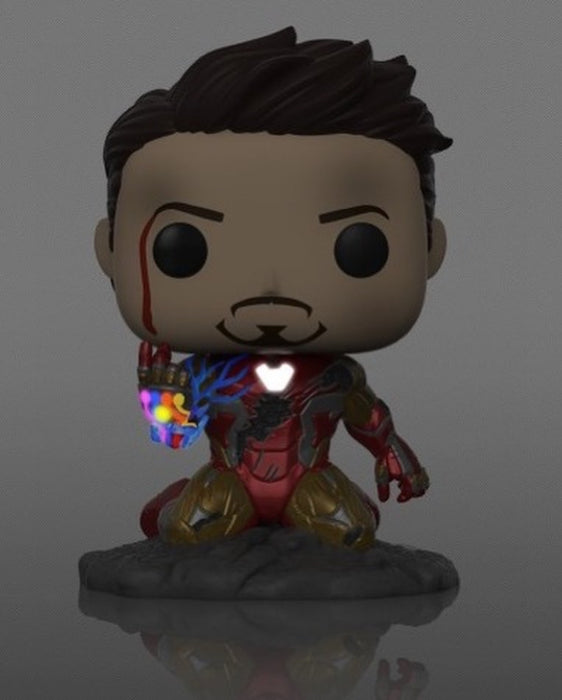 Funko Pop! Marvel Iron Man - I Am Iron Man Glow In The Dark - Previews Exclusive Vinyl Figure (Pre-Order) - CharactersCo.com