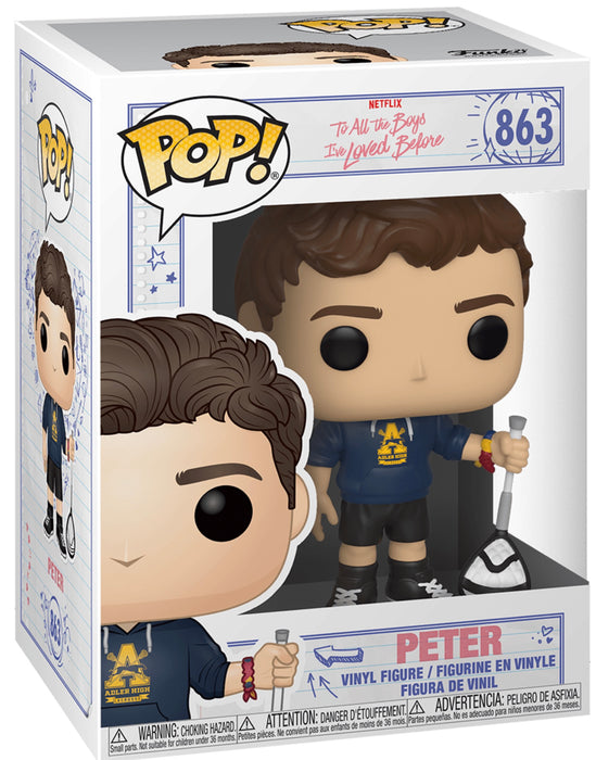Funko Pop! Television To All The Boys I Loved Before - Lara Jean & Peter Set Vinyl Figures (Pre-Order) - Characters Co