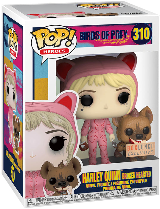Funko Pop! DC Heroes Birds of Prey - Harley Quinn Broken Hearted Exclusive Vinyl Figure (Pre-Order) - Characters Co