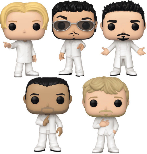 Funko Pop! Rocks Backstreet Boys Set of 5 Vinyl Figures ( Pre-Order) - Characters Co