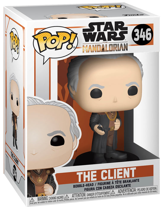 Star Wars: The Mandalorian Funko Pop! The Client Vinyl Figure (Pre-Order) - Characters Co