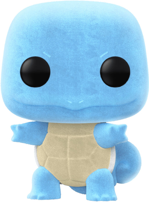 Funko POP! Animation Pokemon Squirtle Exclusive Flocked Vinyl Figure (Pre-Order) - Characters Co