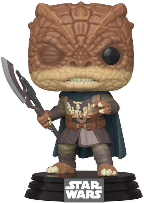 Star Wars: The Mandalorian Funko Pop! Trandoshan Thug Exclusive Vinyl Figure (Pre-Order) - Characters Co