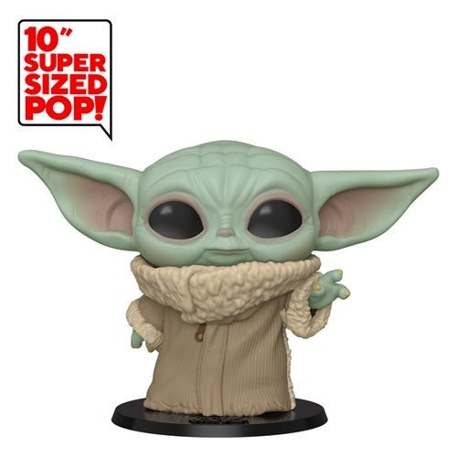 "10"" Funko Pop! The Mandalorian - The Child Baby Yoda, Near Life Size Vinyl FIgure (Pre-Order May 2020) - Characters Co"