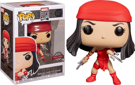 Funko Pop! Marvel Elektra Exclusive 80th Anniversary Vinyl Figure (Pre-Order) - Characters Co