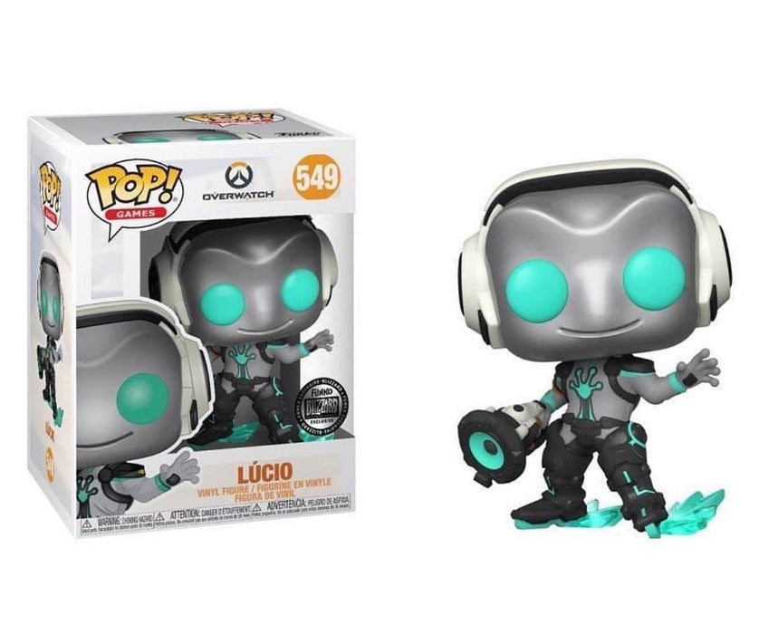 Funko Pop! Games - Overwatch Lucio Ribbit Blizzconn Exclusive Vinyl Figure (Pre-Order) - Characters Co