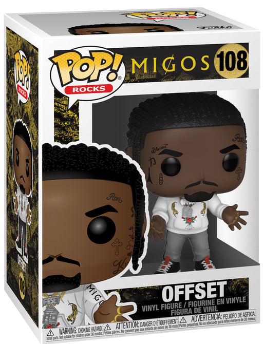 Funko Pop! Rocks Migos - Complete Set of 3 Vinyl Figures (Pre-Order) - Characters Co