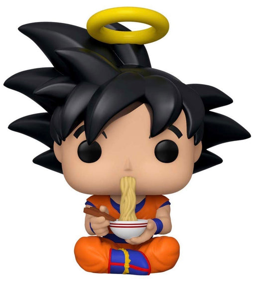 Funko Pop! Animation Dragonball Z Goku Eating Noodles Exclusive Vinyl Figure (Pre-Order) - CharactersCo.com