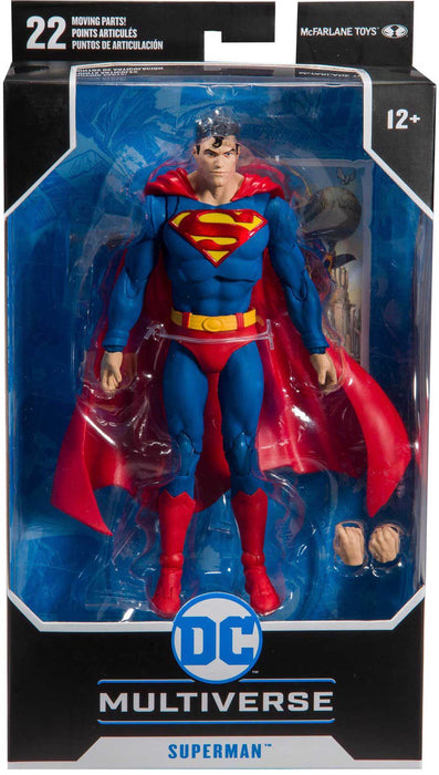 "McFarlane DC Multiverse Superman Action Comics #1000 7"" Collectible Action Figure - Characters Co"