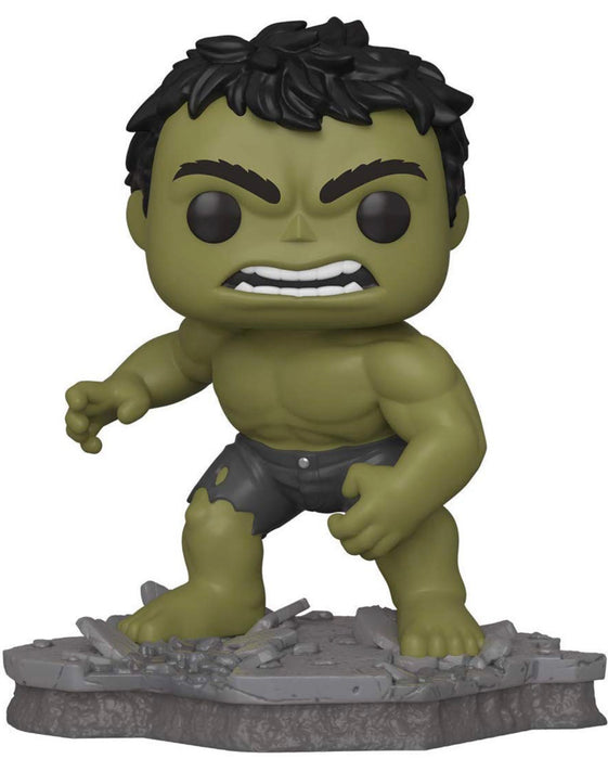 Funko Pop! Marvel - Deluxe Avengers Assemble Series - The Incredible Hulk Exclusive Vinyl Figure (Pre-Order) - Characters Co