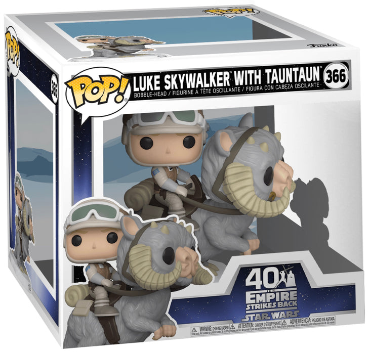Funko Pop! Star Wars Luke Skywalker with Taun Taun ESB 40th Anniversary Vinyl Set (Pre-Order) - Characters Co