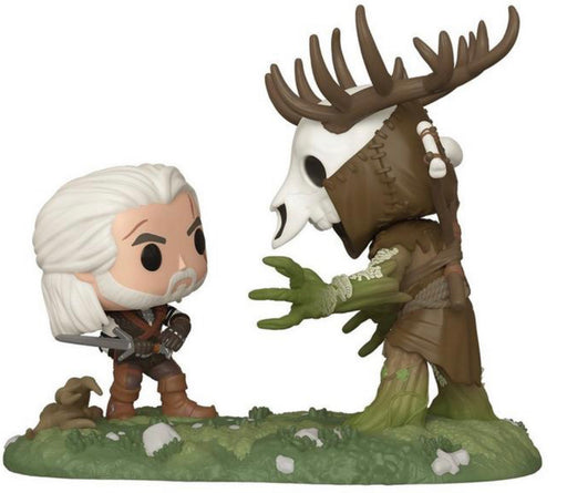 Funko Pop! Game Moments -The Witcher III: Wild Hunt Geralt VS. Leshen Exclusive Vinyl Figure Set (PRE-ORDER) - Characters Co