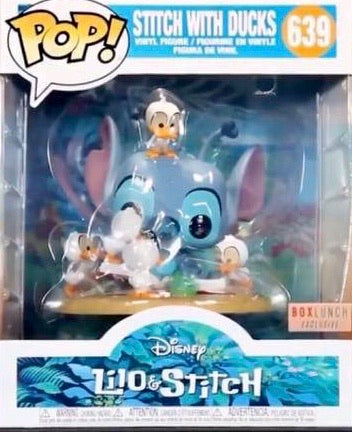 Funko Pop! Disney Stitch With Ducks Exclusive Deluxe Vinyl Figure Set (PRE-ORDER) - Characters Co