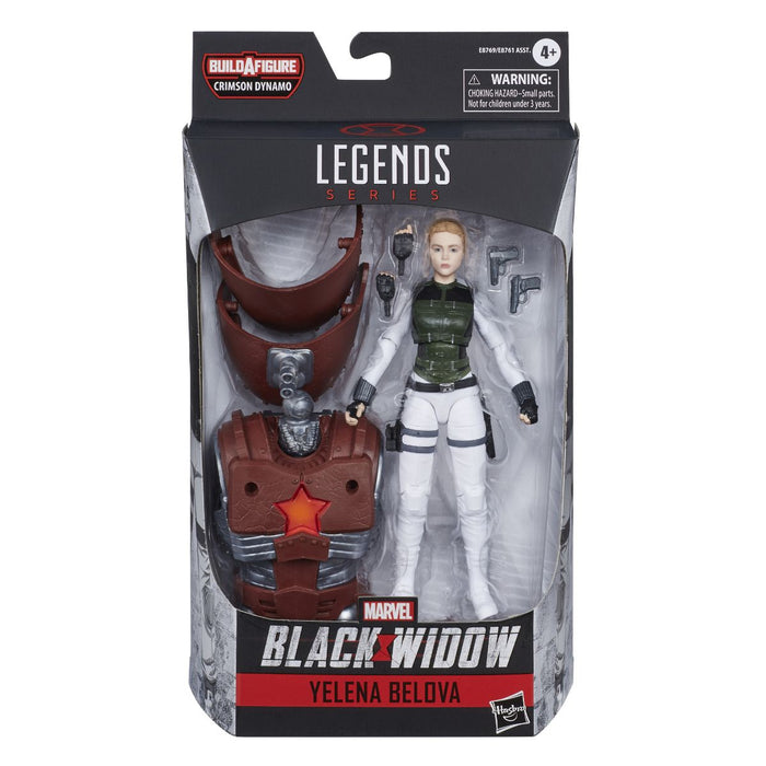 "Marvel Legends Black Widow - Yelena Bolova 6"" Scale Collectible Action Figure - Characters Co"