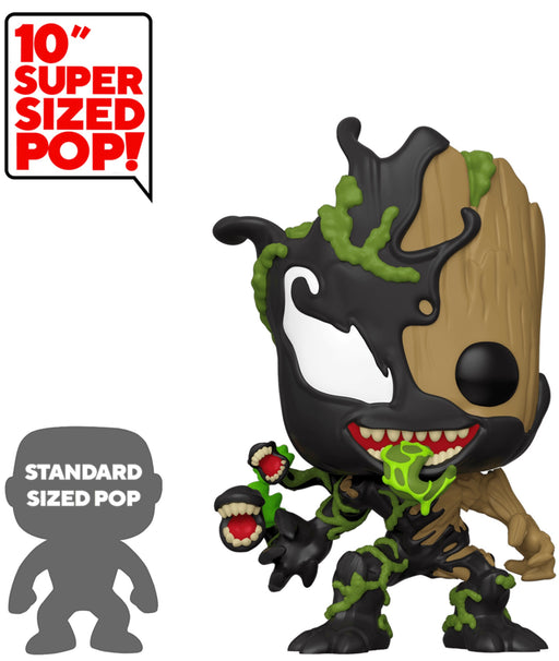 Funko Pop! Marvel - 10 Inch Venomized Groot Vinyl Figure (Pre-Order) - Characters Co