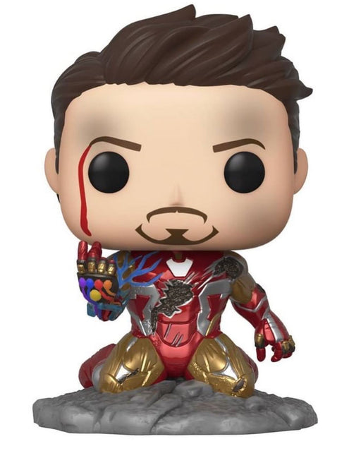 Funko Pop! Marvel Iron Man - I Am Iron Man Glow In The Dark - Previews Exclusive Vinyl Figure (Pre-Order) - Characters Co