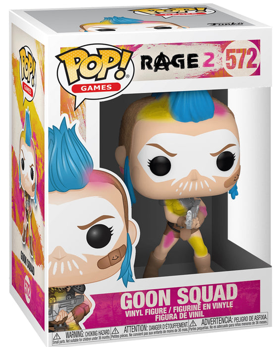 Funko Pop! Games Rage 2 - Goon Squad & Immortal Shrouded Vinyl Figure Set (Pre-Order) - Characters Co