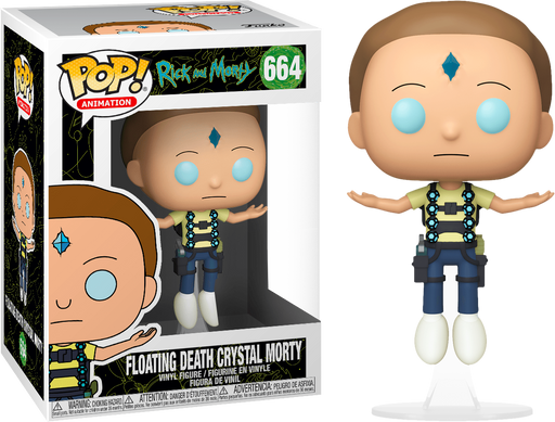 Floating Death Crystal Morty Funko Pop! Exclusive Rick and Morty Animation Vinyl Figure - CharactersCo.com
