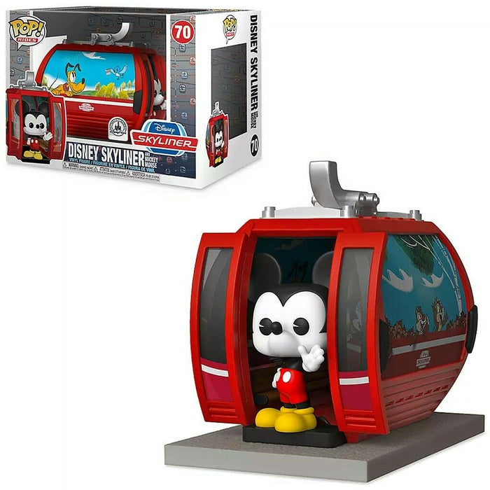 Funko Pop! Disney Rides - Disney Skyliner and Mickey Mouse Disney Parks Exclusive Vinyl Figure Set - Characters Co